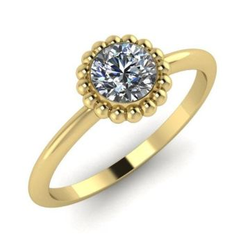 Alto, Yellow Gold and Diamond