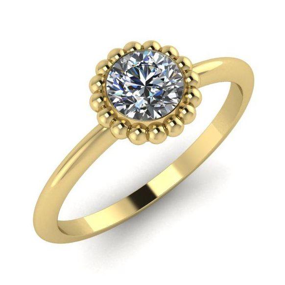 Alto, Yellow Gold and Diamond
