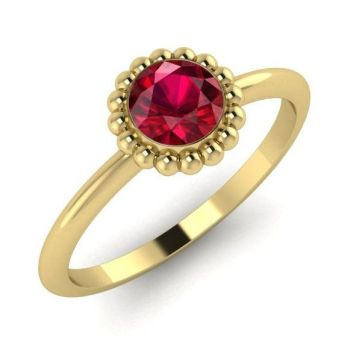Alto, Yellow Gold and Ruby