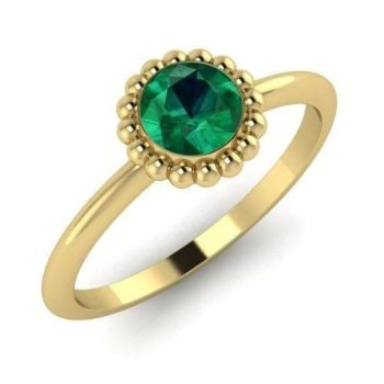Alto, Yellow Gold and Emerald