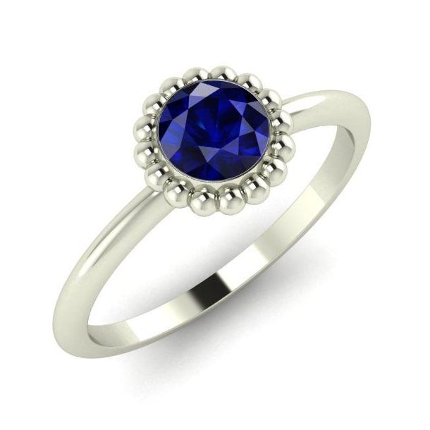 Alto Blue Sapphire & White Gold