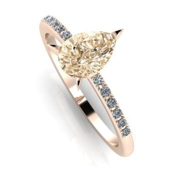 Calista: Champagne & Diamonds - Rose Gold