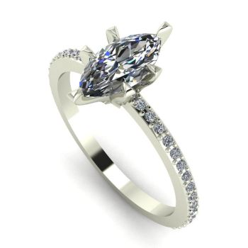 Amoret: White Gold & Diamond
