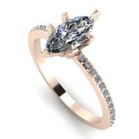 Amoret: Diamonds & Rose Gold