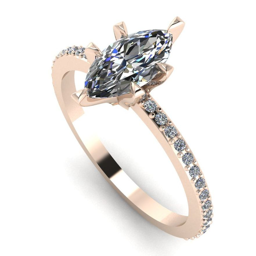 Amoret: Diamonds Rose Gold