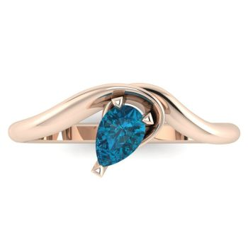 Enchanted: London Blue Topaz & Rose Gold