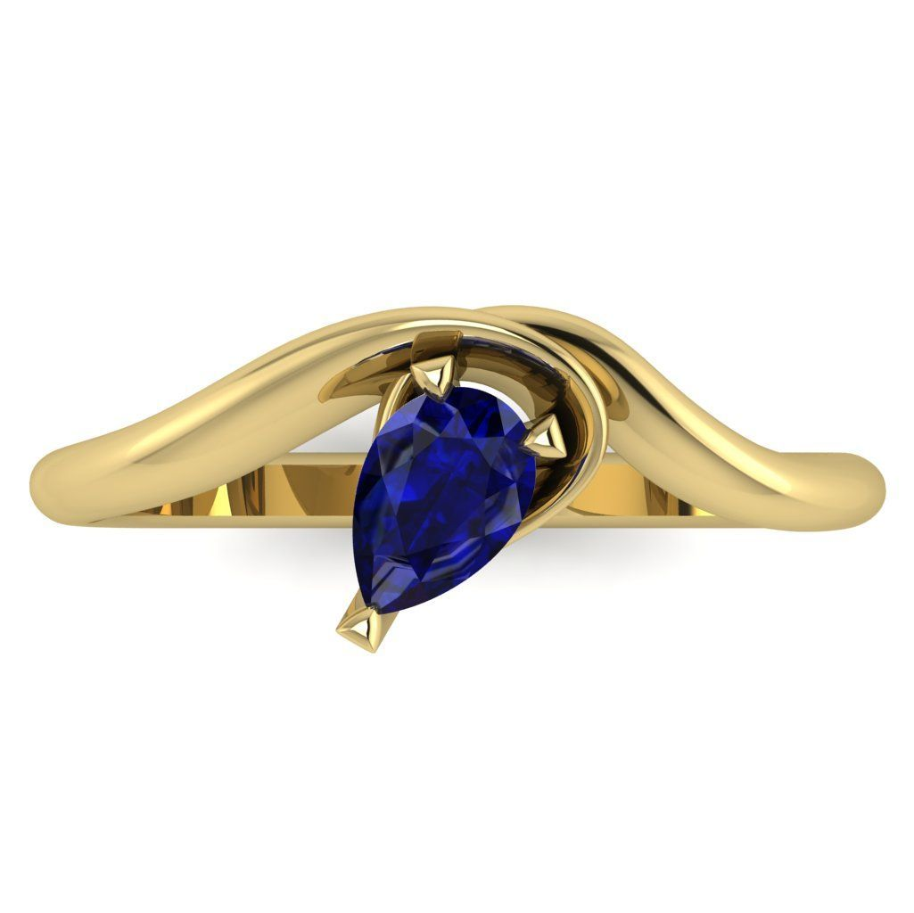 Enchanted: Sapphire & Yellow Gold
