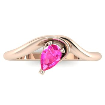 Enchanted: Pink Sapphire & Rose Gold