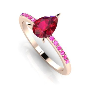 Calista: Ruby & Pink Sapphire