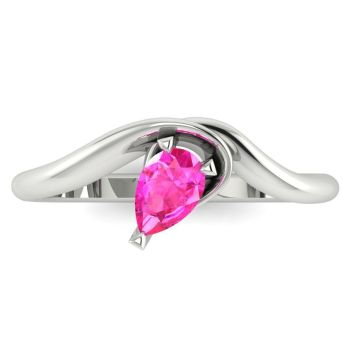 Enchanted: Pink Sapphire & White Gold