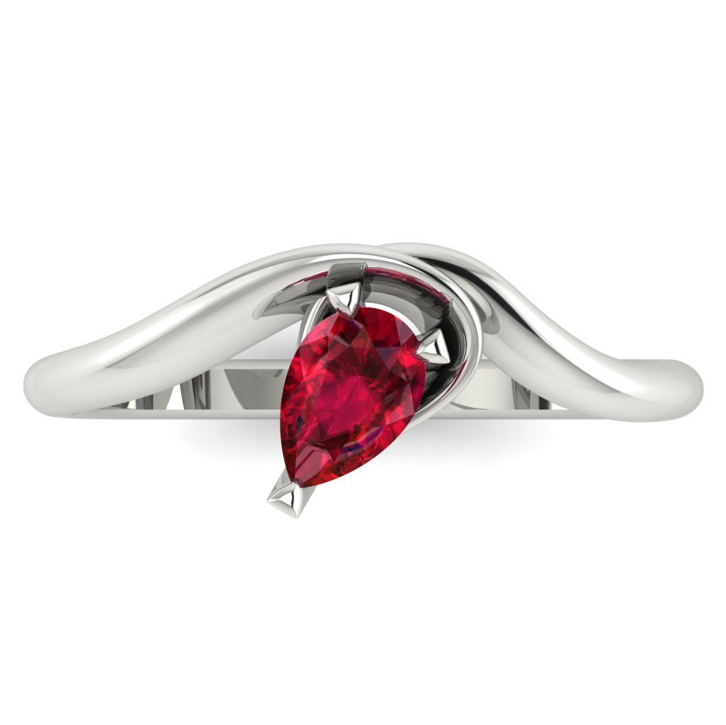 Enchanted: Ruby & White Gold