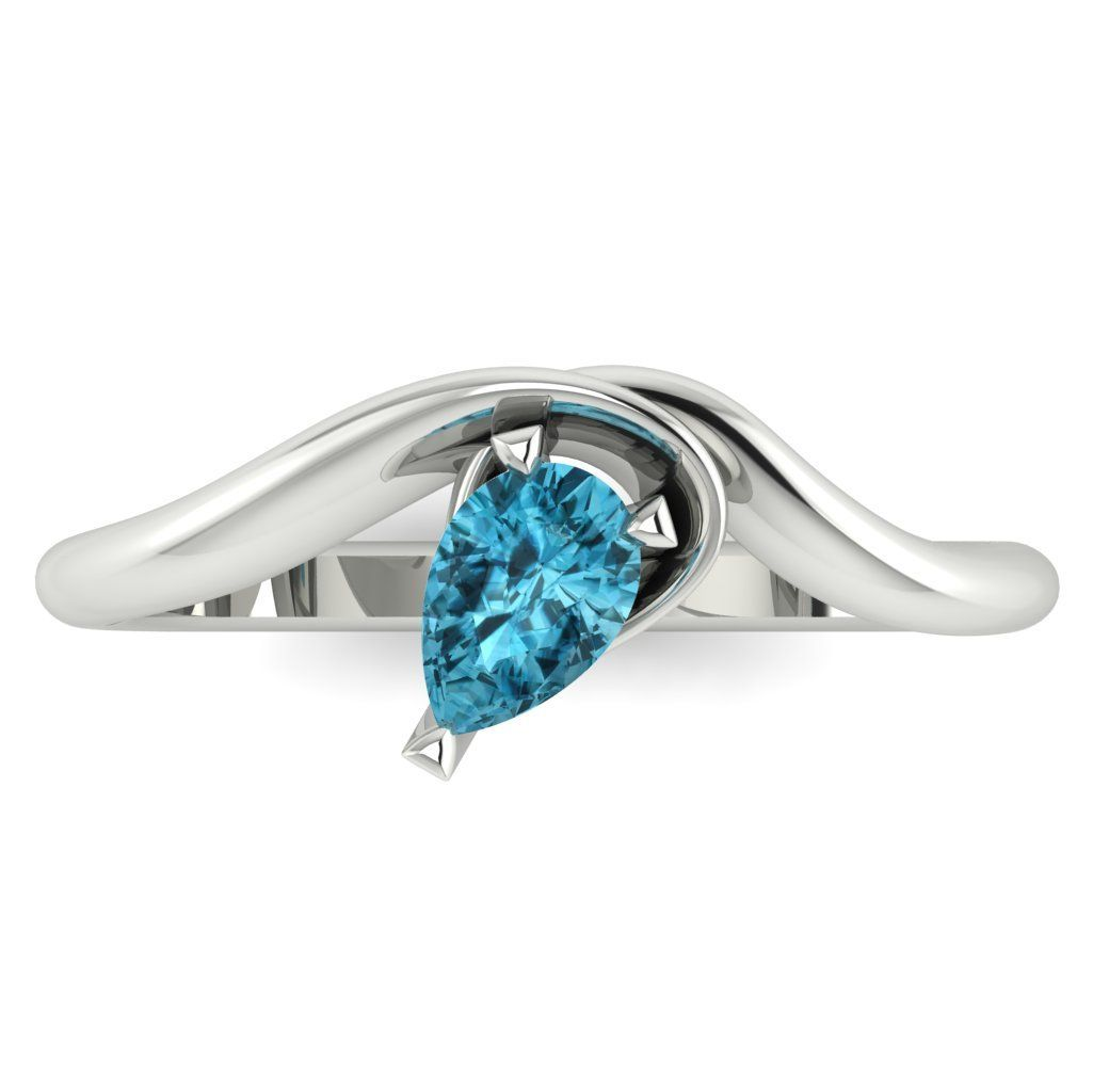 Enchanted: Zircon & White Gold