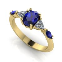 Maisie Ring - Sapphire & Diamond