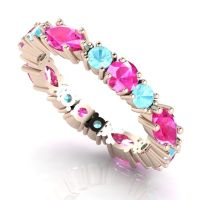 Fire & Ice Eternity Ring