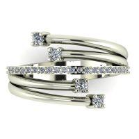 Unusual Diamond Eternity Ring