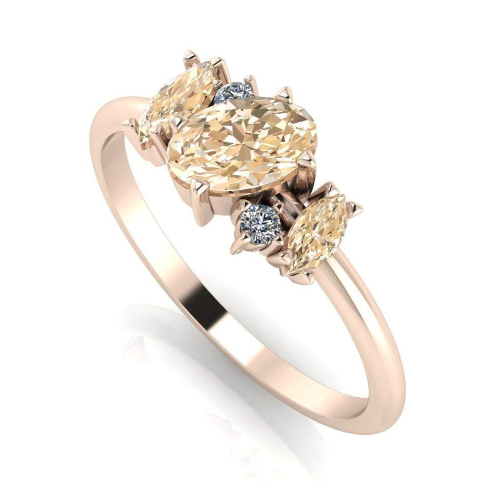 Atlantis Rose:  Champagne Diamond
