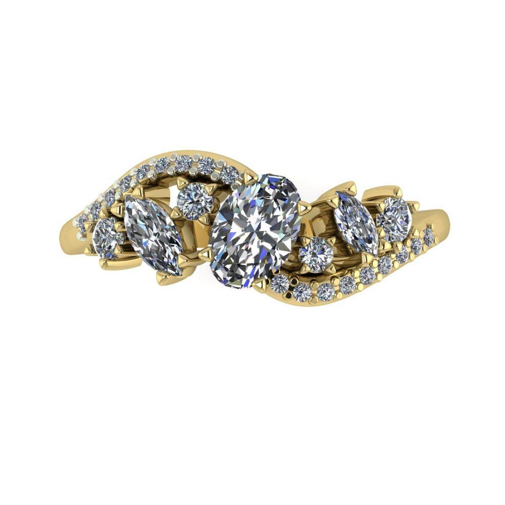 Diamonds - Yellow Gold