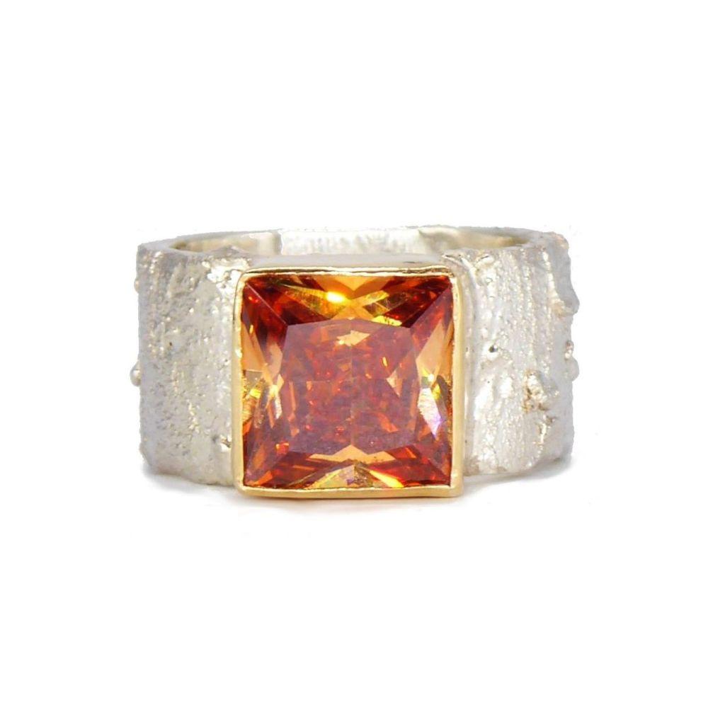 Natural Zircon Gemstone Ring