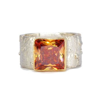 Stunning Natural Zircon Gemstone Ring