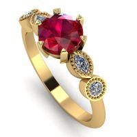 Milena - Ruby & Diamonds