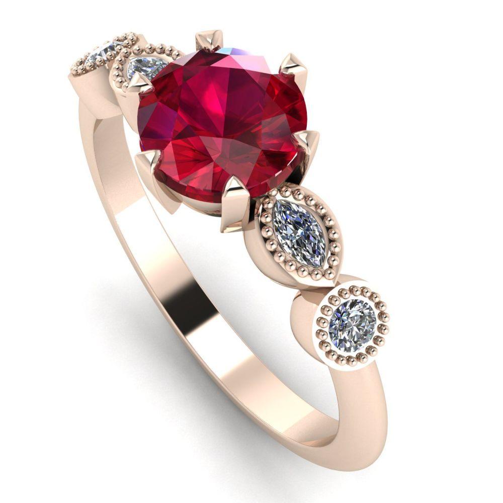 Milena Rose - Ruby and Diamonds