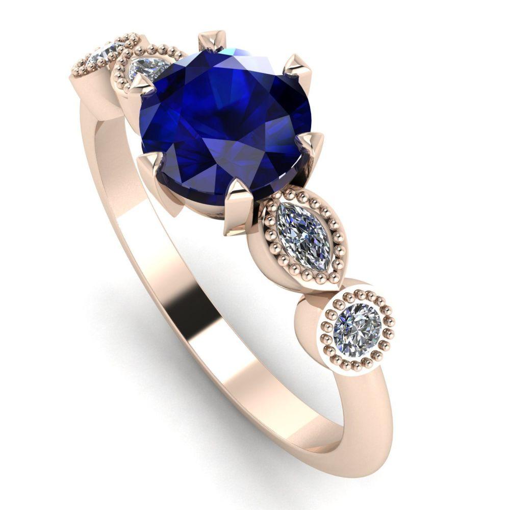 Milena Rose - Sapphire and Diamonds