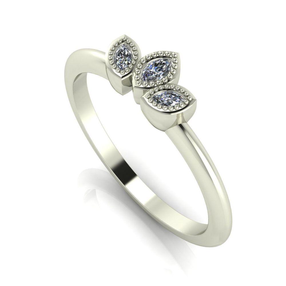 Astraea Liberty Echo - Diamonds & White Gold Ring