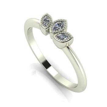 Astraea Echo - Diamonds & White Gold Ring