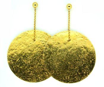 Gold Glitterball Earrings