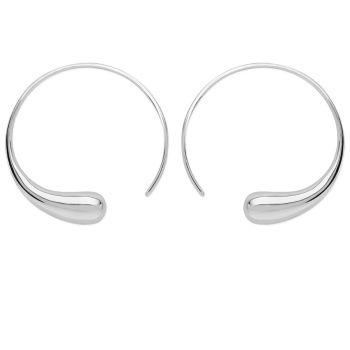 Large Luna Hoop Earrings