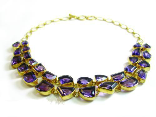amythest necklace 1