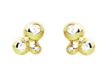 Diamond Bubble Earrings