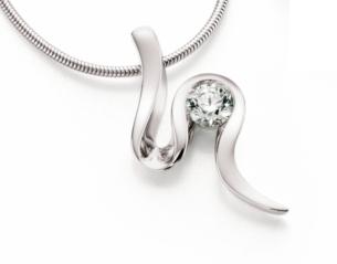 Diamond Wave Necklace Rivoir