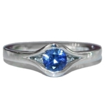 Reveal Sapphire Engagement Ring