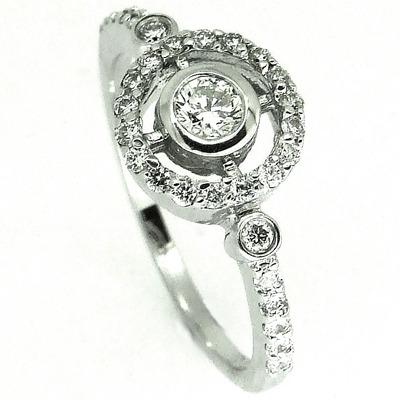 Diamond Target Ring