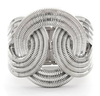 Eclipse Bracelet Platinum Front