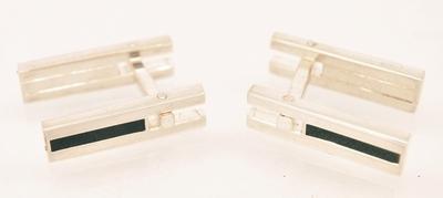 Silver and Black Flatlinks