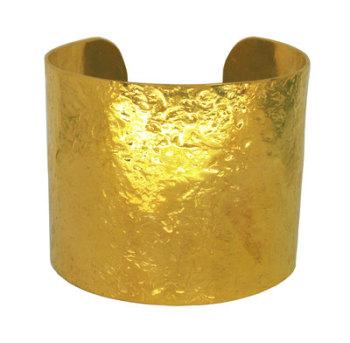 Gold Glitter Cuff
