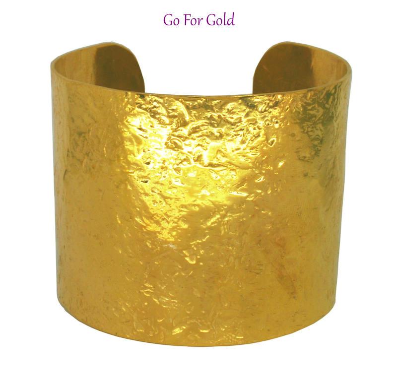 Glitter cuff