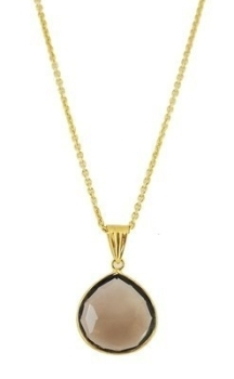 Smokey Quartz Pendant: 60% OFF, WAS £125.00