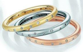 Diamond Stack Rings