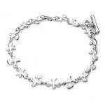 Fine Silver Splat Bracelet
