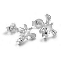 Silver Splat Studs