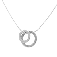 Vanilla Links Double Link Silver Pendant