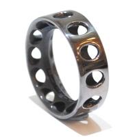 Industrial Mens Silver Ring