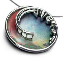Agnieszka - Unusual Silver Pendant