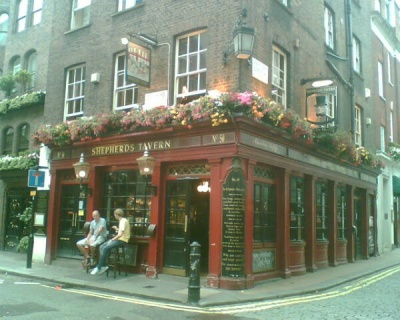 ShepherdsTavern Mayfair, London
