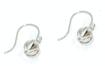 Silver Seed Pod Earrings