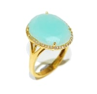 Blue Light Gemstone Ring
