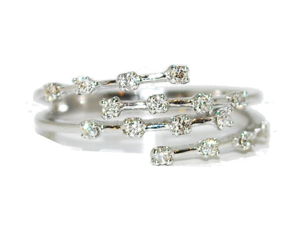 Four Strand Unusual Eteritny Diamond Engagement Ring